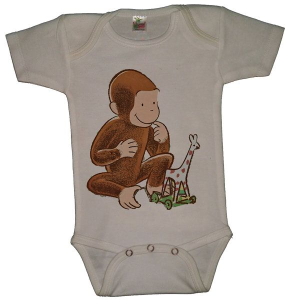 4bd70f84b Baby Clothes: Curious George Baby Giraffe Baby Onesie | Baby | Baby ...
