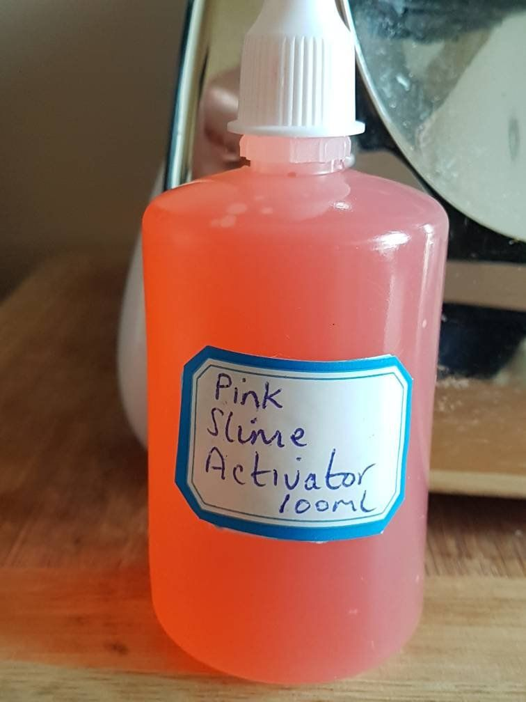 is slime activator the same as contact solution
