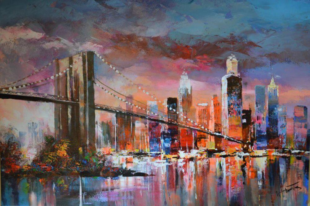 Willem Haenraets - New York Brooklyn Bridge #paisajeurbano