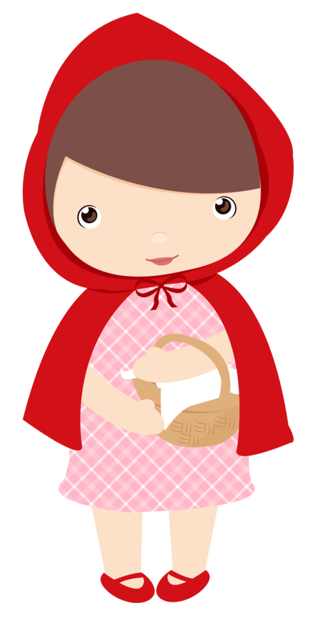 chapeuzinho vermelho arte digital pinterest red riding hood rh pinterest ca red riding hood wolf clipart red riding hood clipart free