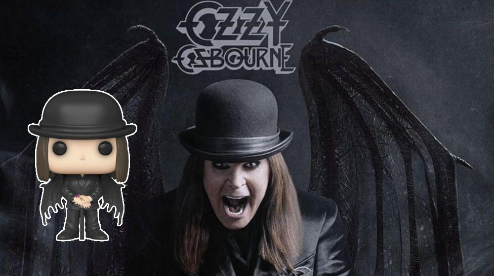 Ozzy Osbourne Ordinary Man PIN Badge