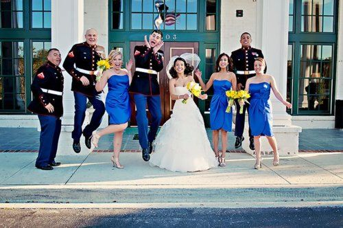 Marine Corps Wedding Bouquet Ideas Usmc Marines