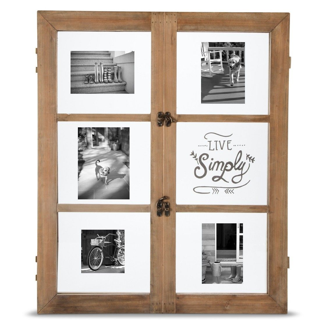 Target Threshold Live Simply 6-Pane Multi Image Frame 4X6   Our Home ...