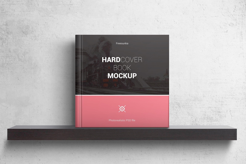 Hardcover Square Book Mockups By Streetd On Envato Elements In 2021 Book Cover Mockup Hardcover Book Mockup