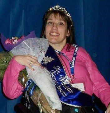 Ms. Wheelchair Massachusetts 2013 is Nicole Tarzia