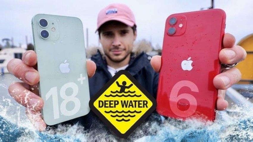 آيفون 12 وآيفون 11 يجتازان اختبار الغوص تحت الماء Iphone Deep Water Phone Cases