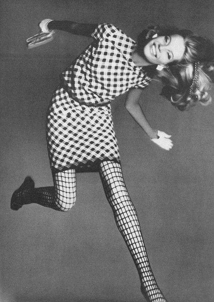 Veruschka photographed by Richard Avedon for Vogue, March 1967