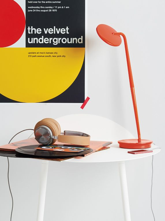 Pixo optical led table lamp pinterest lights modern and mid century pixo led table lamp in orange available in eight playful colors pixo is infinitely adjustable and has a built in usb port for charging your phone aloadofball Image collections