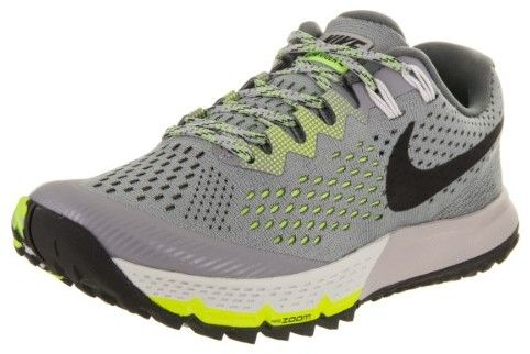 new product 433f6 68cbe Nike Women s Air Zoom Terra Kiger 4 Stealth Black Dark Grey Volt Running