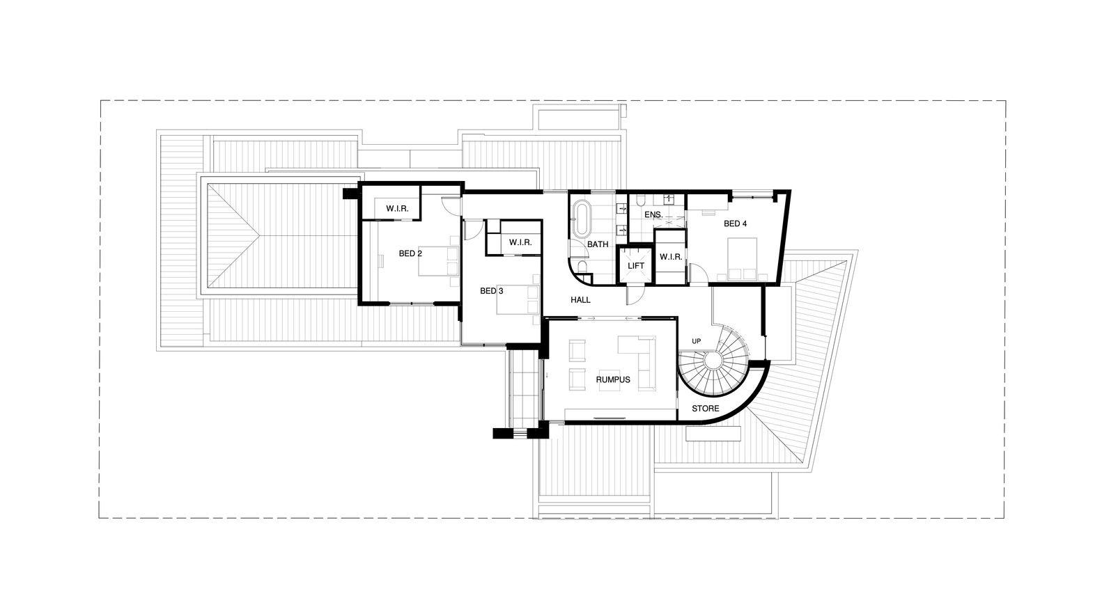 Gallery Of Resort House Martin Friedrich Architects 28 Martin House Floor Plans Ground Floor Plan