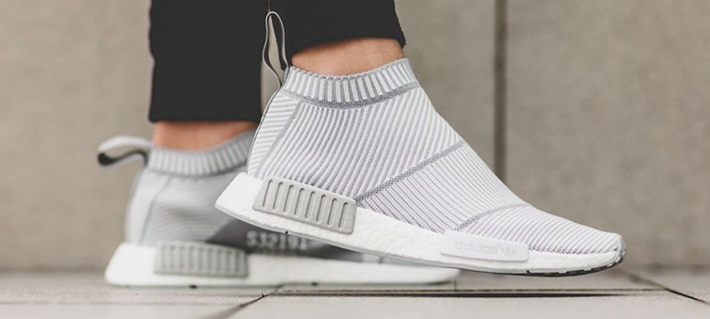 The adidas NMD City Sock White Grey is launching at tonight at European  stockists