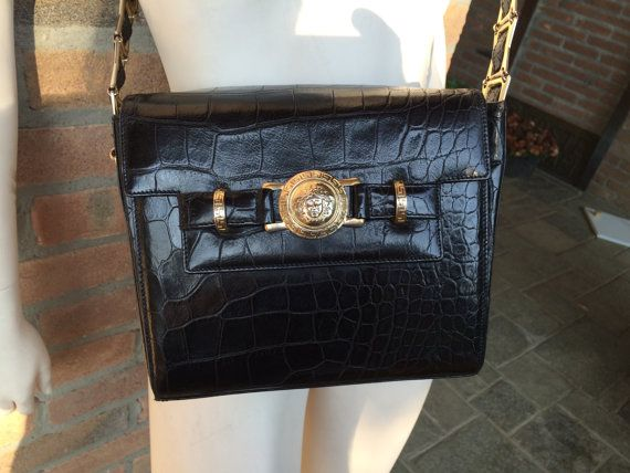 714be103c1a0 Genuine Gianni Versace vintage front flap purse
