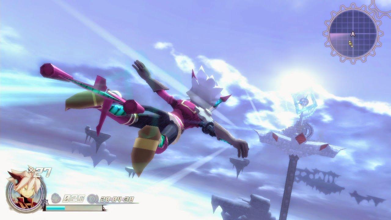 Rodea The Sky Soldier 3DS Version trailer [3DS]