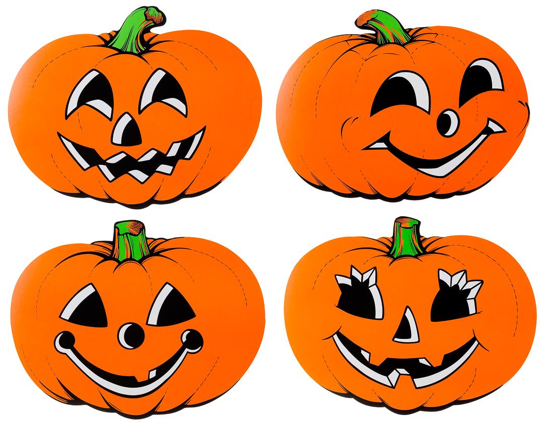 Vintage Beistle Pumpkin Cutouts