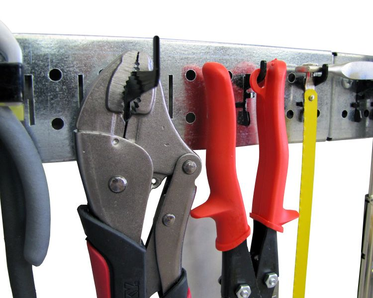 Pegboard Hooks For Slotted Metal Pegboard Panel Tool Storage And Organization By Wall Control Metal Pegboard Tool Storage Peg Board