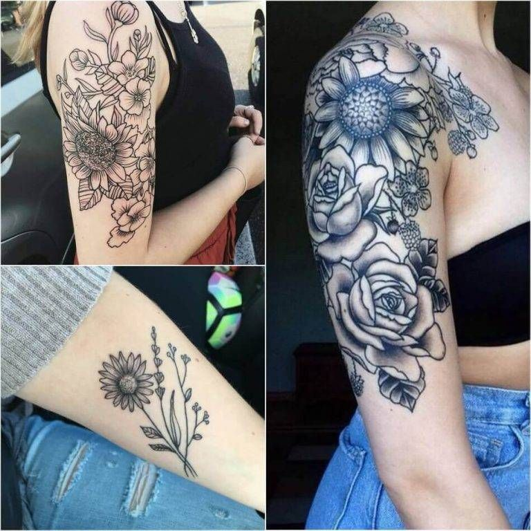 Photo of Sunflower Tattoo Meaning – Popular Sunflower Tattoo Ideas for Women and Men