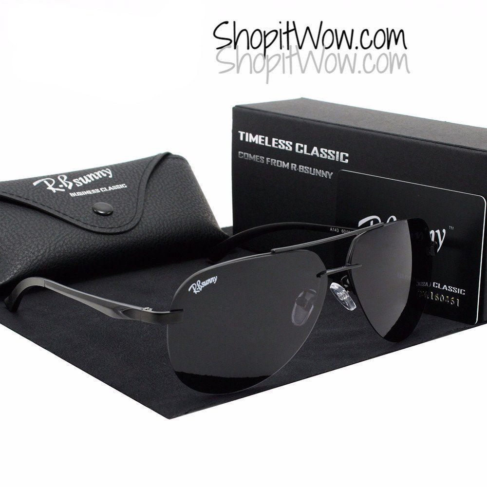 Polarized Unisex Eyewear HD Aluminum Magnesium Polaroid lens