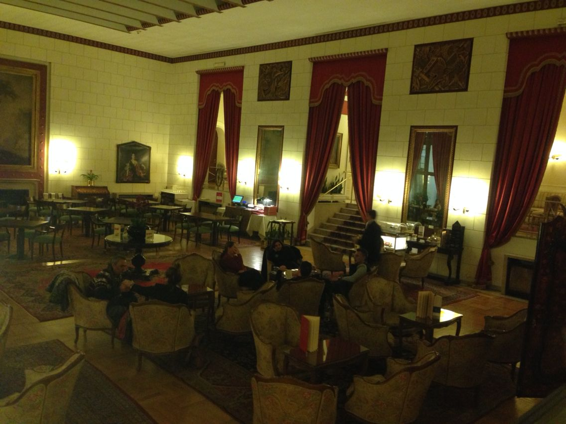 Classic Lounge Bar In Hotel Quirinale Rome My Vacations