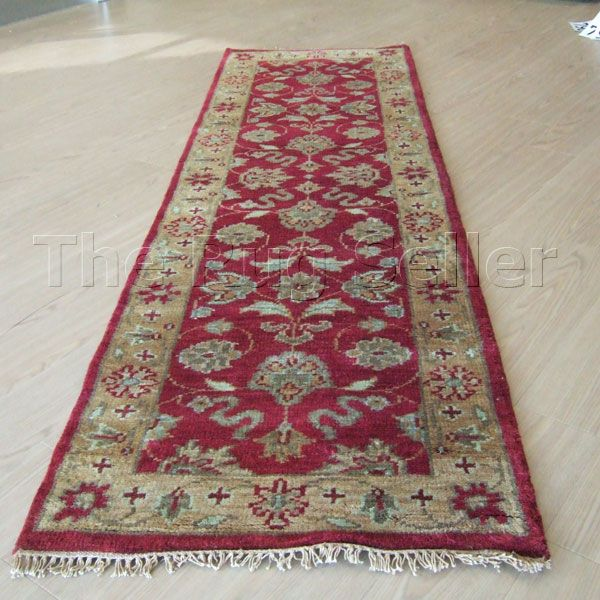Taj Indian Agra Hallway Runners In Red Gold Online From The Rug Er Uk