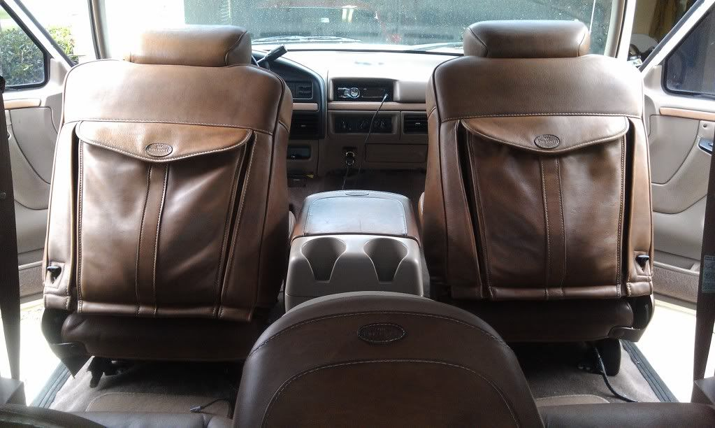 1995 Bronco With King Ranch Interior Ford Bronco Forum With