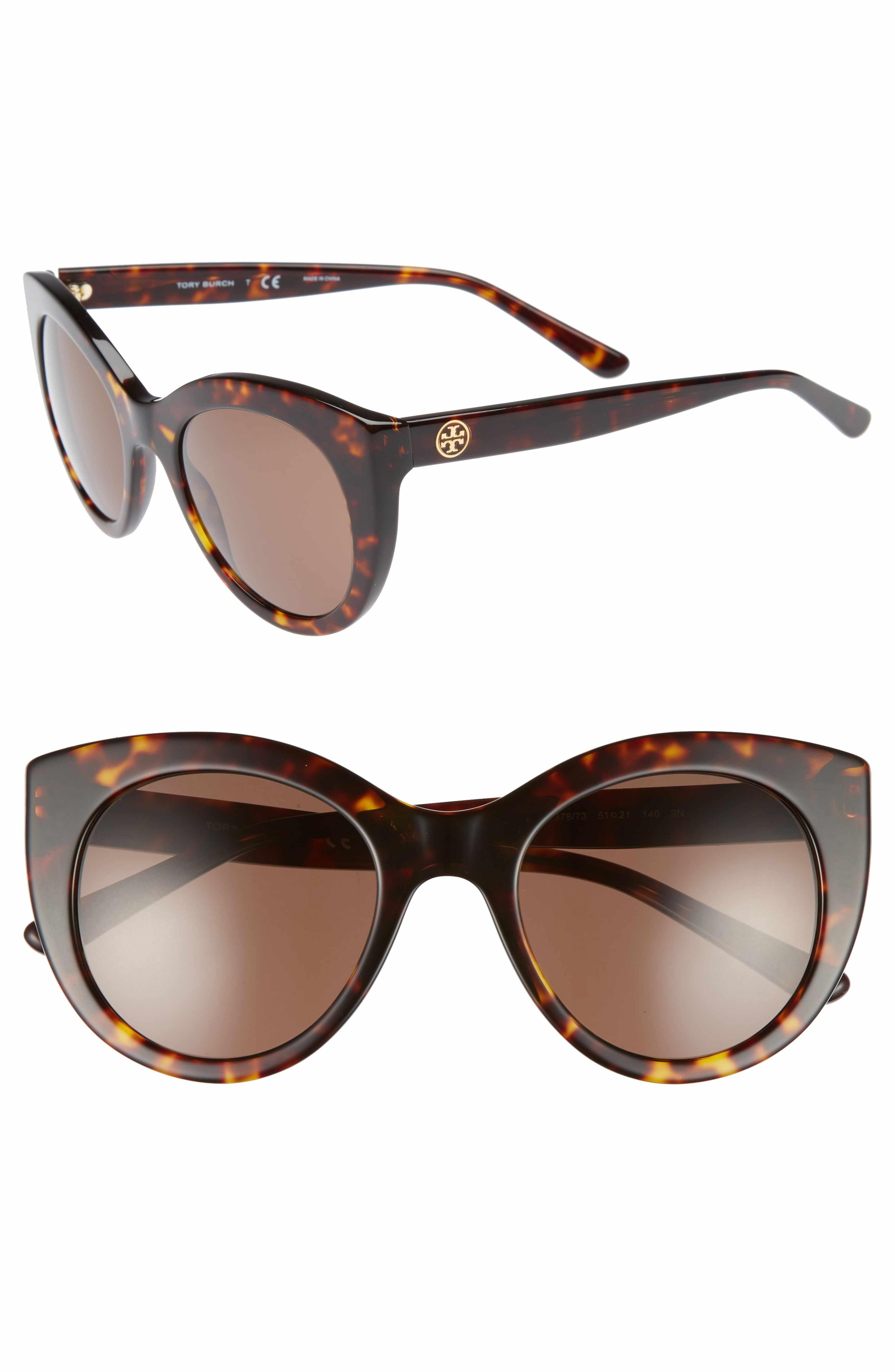 11b631bc640b Main Image - Tory Burch 51mm Cat Eye Sunglasses | Cat eye | Cat eye ...