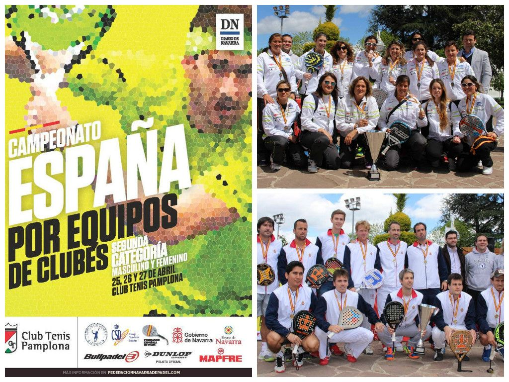Crónica Campeonato de España por Clubes de 2ª categoría.  Club Tenis Barcelona y Esportiu de Tarragona se han proclamado Campeones. Leer más http://padelgood.com/campeonato-de-espana-por-clubes-de-2a-categoria/