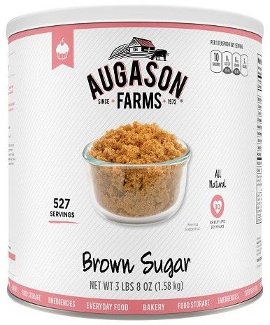 Augason Farms Emergency Food Brown Sugar 67 oz https://api.shopstyle.com/action/apiVisitRetailer?id=498479722&pid=uid8100-34415590-43