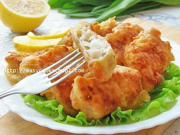 Рыба в кляре с пивом: пошаговый рецепт с фото | Легкие ...