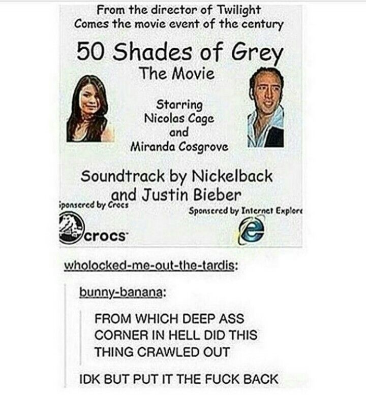 50 Shades Of Grey With Nicholas Cage And Miranda Cosgrove From The