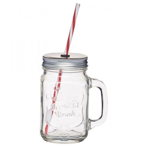 Verre Mason Jar 450ml Homemade
