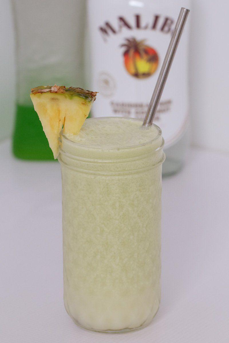 Midori Cocktail Recipe Midori Cocktails Coconut Rum Drinks Delicious Drink Recipes