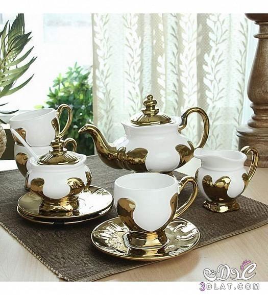 اطقم شاي 2015 اطقم شاي مميزه اطقم شاي تحفه 2015 Tea Tea Pots Sugar Bowl Set