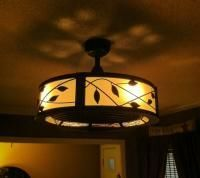 Allen Roth Eastview 23 In Aged Bronze Indoor Downrod Mount Ceiling Fan With Light