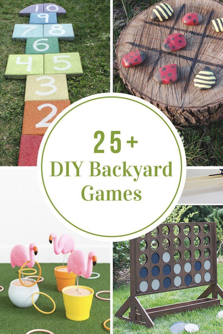 diy backyard games summer fun backyard and gaming