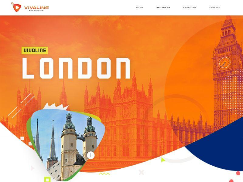 Creative Agency Website Mockup Mockup Web Design Website