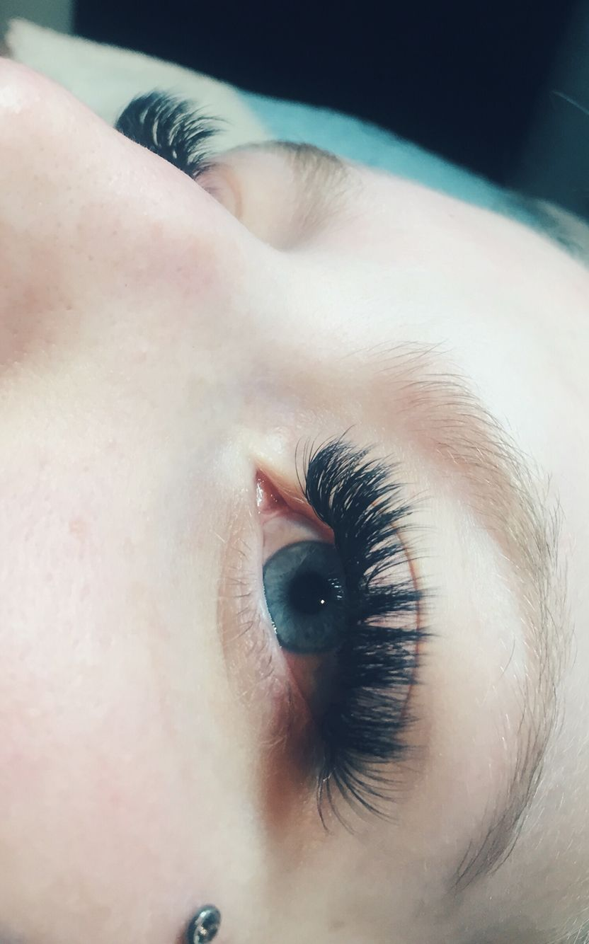 7ac0b47df7c Glamorous Volume Eyelash Extensions! Done by me using Lash Affair products:  True Love bond, and luxury silk lashes size .07 D Curl 10-13mm