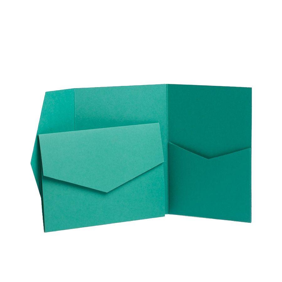 Pocketfold invitations DIY Wallet Sage Matte Wallet WEDDING INVITES /& envelopes