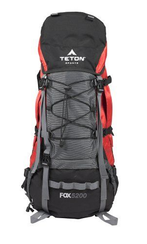 fb17ead5e5 TETON Sports Fox5200 Internal Frame Backpack (Red)