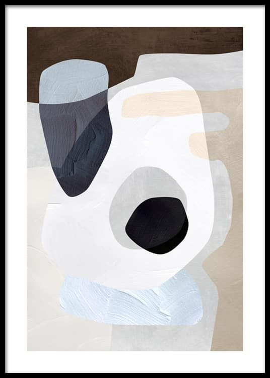 Abstract Graphic No1 Poster