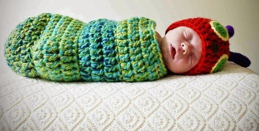 Hungry Caterpillar Newborn Outfit