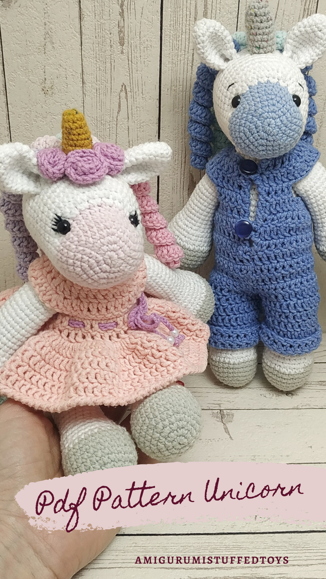 Eenhoorn unicorn rattle rammelaar gehaakt crochet handmade ... | 1920x1080