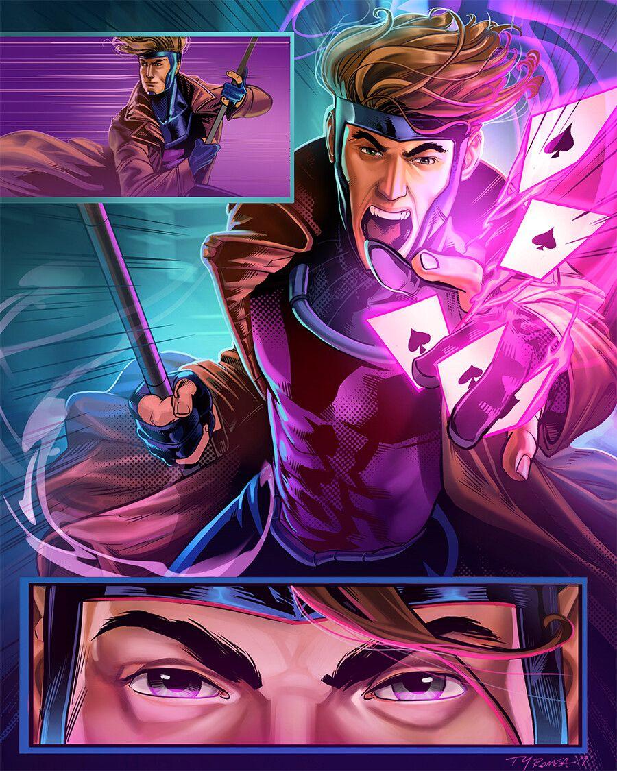 Pin on Rogue x Gambit - 웹