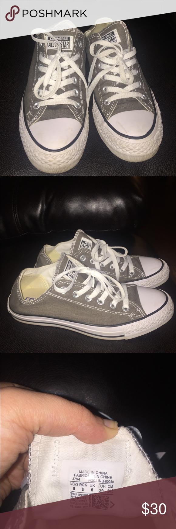 c70450b7945e Women s Converse Sneaker size 8 gray