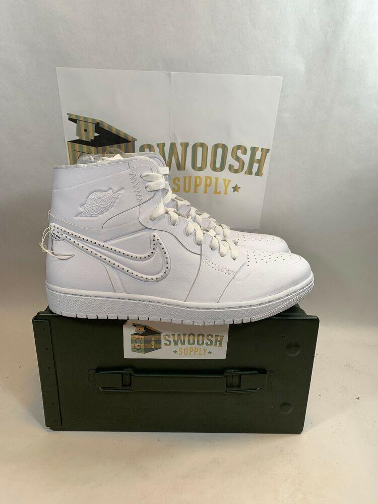 b020df5c4ee Nike Air Jordan 1 Retro Hi NCXL CI5910-110 Limited Edition Men s 10 New  Nigel  Nike  BasketballShoes