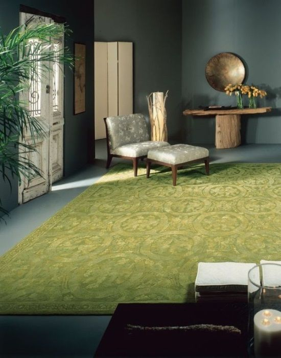 Incroyable [Asmara Blog] How To Decorate With Green And Green Rugs