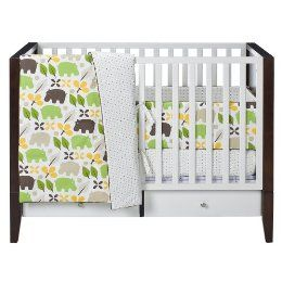 DwellStudio for Target Hippo Crib Set wish it was in other colors.