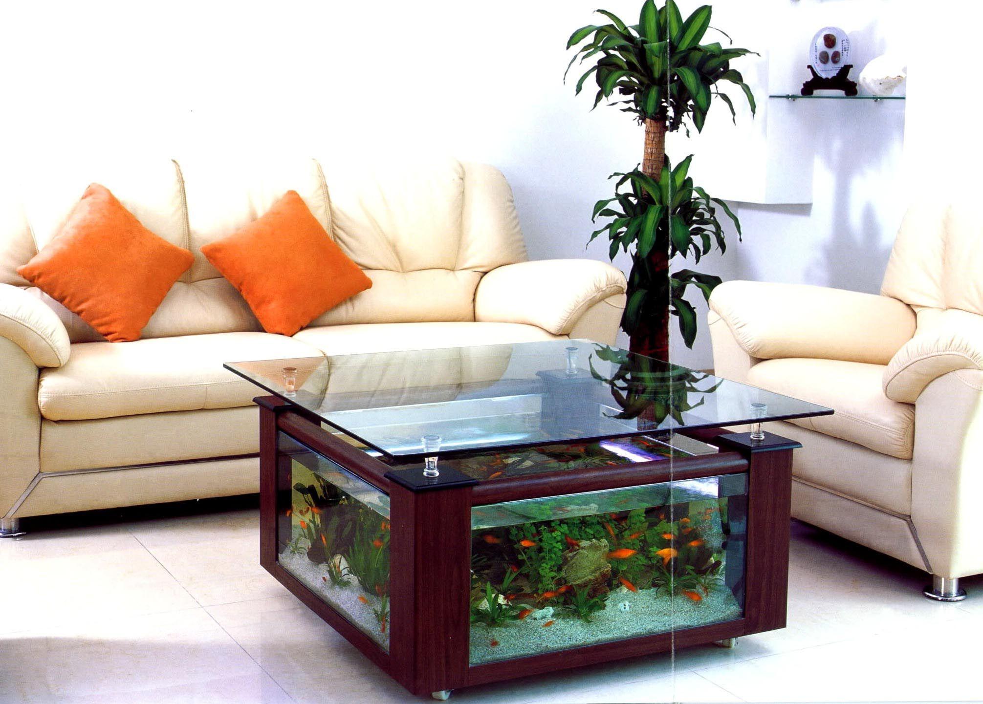 Hexagon Coffee Table Aquarium Aquarium Ideas