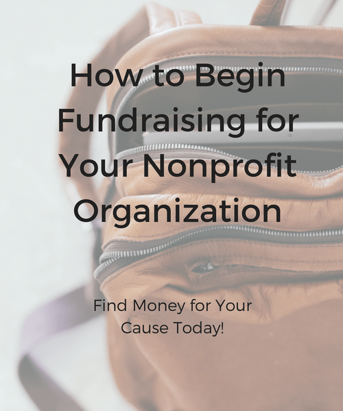 How To Start Fundraising For Your Nonprofit Organization