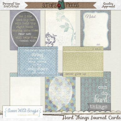 Hard Things Journal Cards