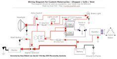 simple motorcycle wiring diagram for choppers and cafe racers evan honda ct90 motorcycle wiring diagrams simple motorcycle wiring diagram for choppers and cafe racers evan fell motorcycle works